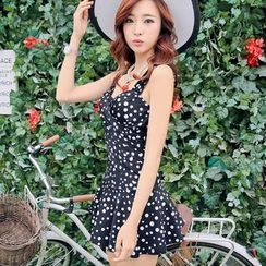 Beach Date - Dotted Swim Dress