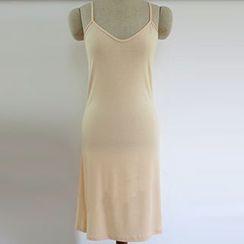 Milu Milu - 纯色吊带裙