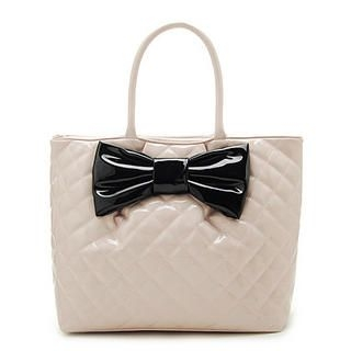 Bow Front Shoulder Bag