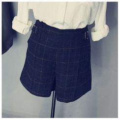 芷蓯夕 - 格子短褲