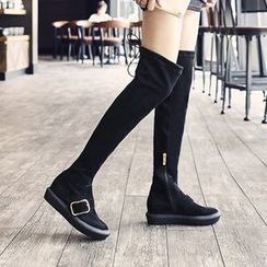 JY Shoes - Platform Over The Knee Boots
