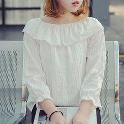 Katie Bloom - Plain 3/4 Sleeve Top