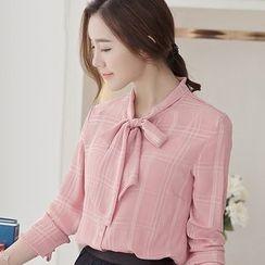 Eferu - 蝴蝶结领衬衫