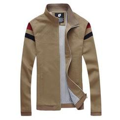 Alvicio - 配色边拉链外套