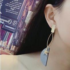 Abigail - Non-Matching Drop Earrings