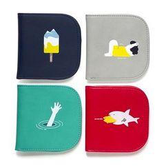 KIITOS - Printed Fold Wallet