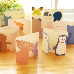 Class 302 - Animal Print Greeting Card