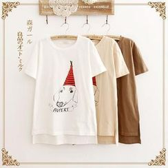 Forest Girl - Print T-Shirt