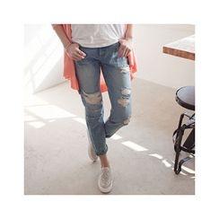 MASoeur - Distressed Harem Jeans