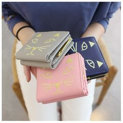 Rinka Doll - Cat Embroidered Wallet