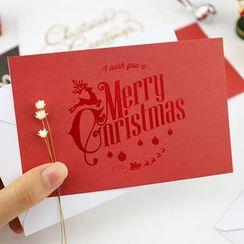 雲木良品 - 聖誕卡連信封形