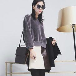 Sonne - Faux Fur Pullover
