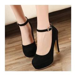 Shoeland - 粗跟厚底高跟鞋