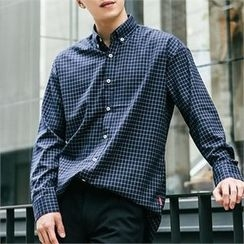 STYLEMAN - Button-Down Check Shirt