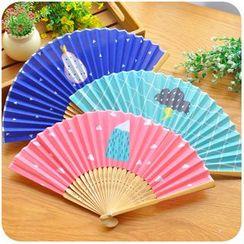 Momoi - Print Hand Fan