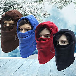 Pompabee - Fleece Hooded Neck Warmer