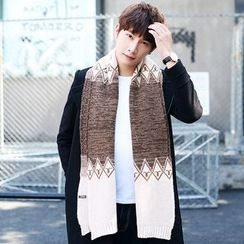LS.SPRING - Patterned Knit Scarf