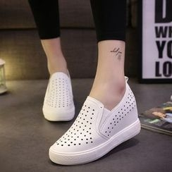 Wello - Perforated Slip-Ons
