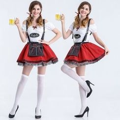 Cosgirl - Beer Festival Waitress Party Costume