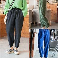 Whitney's Shop - Drawstring Baggy Pants