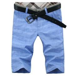 Blueforce - Check Shorts