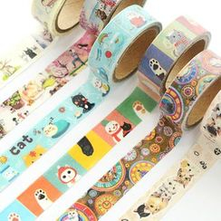 OH.LEELY - Cat Print Masking Tape