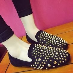 SouthBay Shoes - Studded Flats