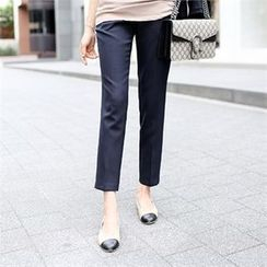 PIPPIN - Pocket-Side Tapered Dress Pants