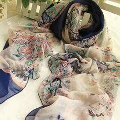 Rita Zita - 碎花薄圍巾