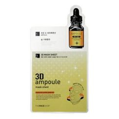 The Face Shop - 3D Ampoule Mask Sheet Hyaluronic Acid & Colostrum