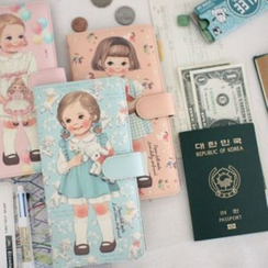 iswas - 'Paper Doll Mate' Series Long Passport Case