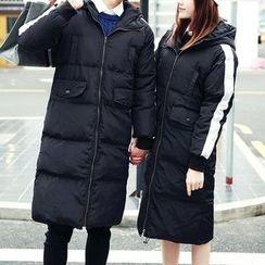 以路 - 情侶連帽夾棉大衣