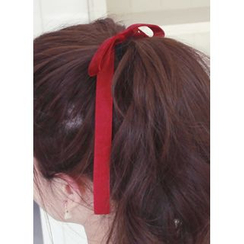 kitsch island - Bow Velvet Hair Tie