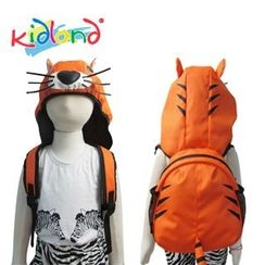 Kidland - Kids Tiger Backpack with Hood