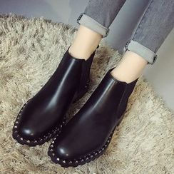 SouthBay Shoes - Studded Ankle Boots