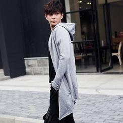 Seoul Boy - 连帽拉链长外套