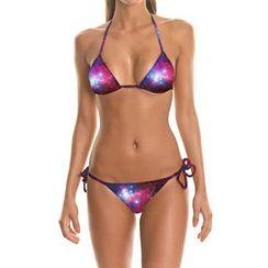 Omifa - Galaxy-Print Bikini