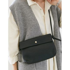 FROMBEGINNING - Faux-Leather Crossbody Bag