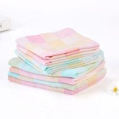 Homy Bazaar - 儿童格纹手巾