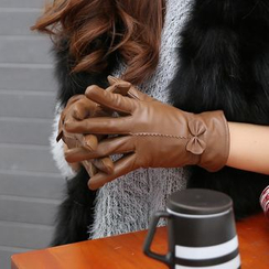 Glova - Bow Genuine Leather Gloves