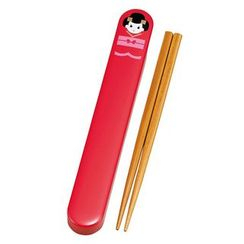 Hakoya - Hakoya 18.0 Chopsticks Box Set Maiko Red