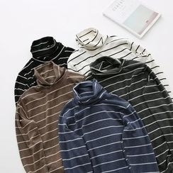 LEMONADE - 樽领条纹上衣