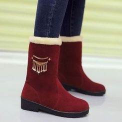 Sidewalk - Kids Fleece Mid Cuff Boots