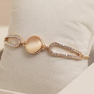Love Generation - Rhinestone Crystal Bracelet