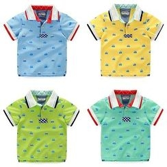 WellKids - Kids Printed Polo Shirt