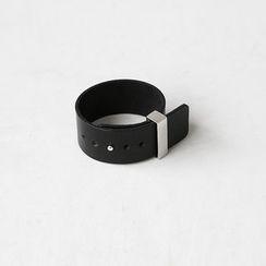 NANING9 - Genuine Leather Wide Bracelet