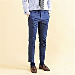 THE COVER - Cotton Blend Dress Pants