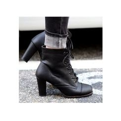 REDOPIN - Lace-Up Ankle Boots