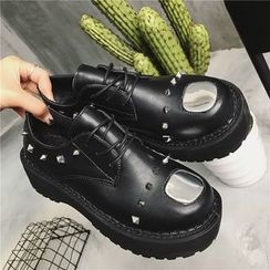 Hipsole - Studded Lace-Up Shoes