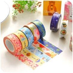 Fancy Mansion - Printed Masking Tape